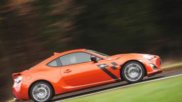 Toyota GT86 by Abbey Motorsport side driving