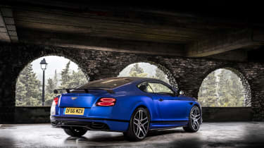 Bentley Continental Supersports - rear three quarter