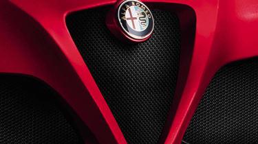 Alfa Romeo 4C front grille