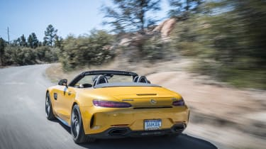 Mercedes-AMG GT C Roadster - rear tracking
