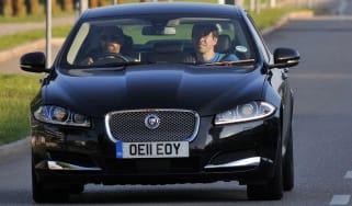 New Jaguar XF estate production