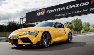 New 2019 Toyota Supra yellow