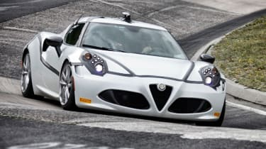 Alfa Romeo 4C posts 8:04 Ring time: video
