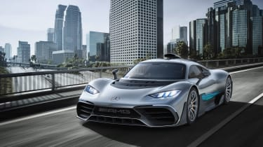 Mercedes-AMG Project One - front