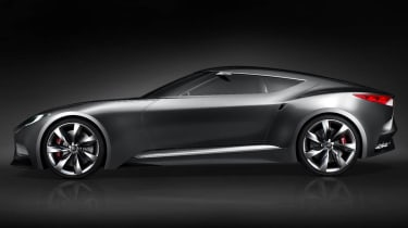 Hyundai HND-9 coupe side profile