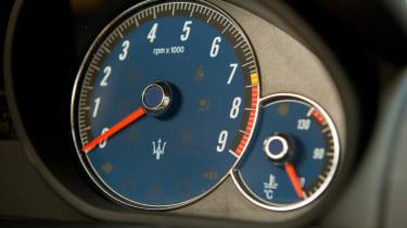 Harry Metcalfe's Maserati GranTurismo S dials