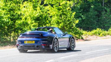Porsche 911 Turbo S Cabriolet – rear cornering