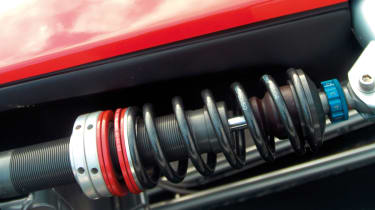Ariel Atom coilover suspension