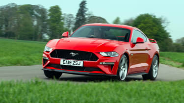 Ford Mustang front red