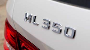 Mercedes ML350 CDI badge