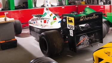 Used Formula 1 cars rear