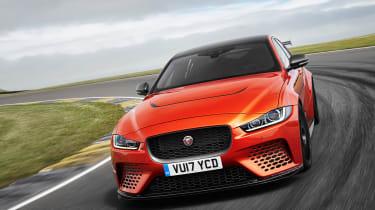Jaguar XE SV Project 8  nose