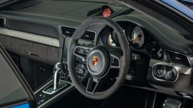 Porsche 911 GT3 991 – interior