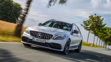2019 Mercedes-AMG C63 – front