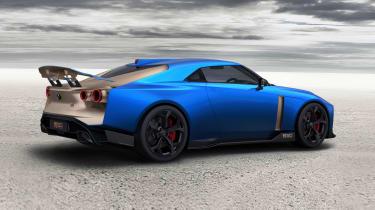 Nissan GT-R50 rear quarter