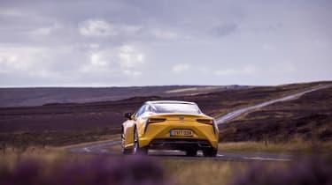 Lexus LC 500 - rear