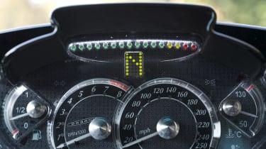 Pagani Zonda Cinque dashboard