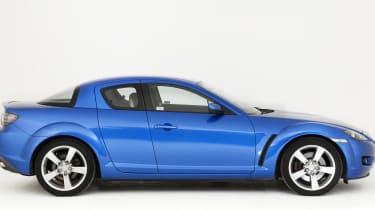 Mazda RX-8 side on