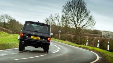 Bishops Heritage Range Rover – rear cornering