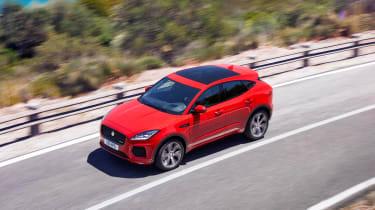 Jaguar E-Pace - driving high
