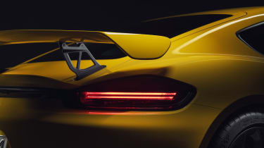Porsche 718 Cayman GT4 lights