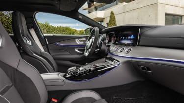 Mercedes GT 53 4-door - console