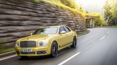Bentley Mulsanne Speed - front