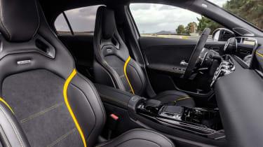 Mercedes-AMG A45 S seats