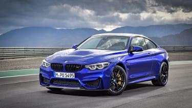BMW M4 CS - front three quarter