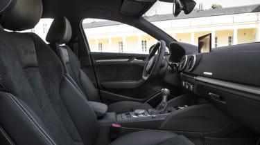 2013 Audi A3 Saloon front seats