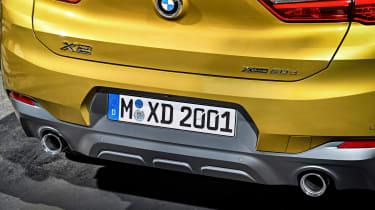 BMW X1 M Sport X - boot lid