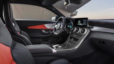 Mercedes-AMG C 63 S Coupe - white interior