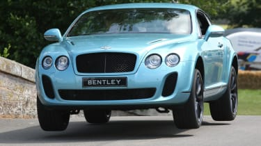 2012 Cholmondeley Pageant of Power Bentley Continental Supersport
