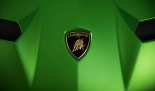Lamborghini Aventador SVJ green