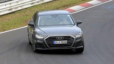 Audi S8 prototype - front