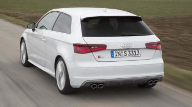 2013 Audi S3 white