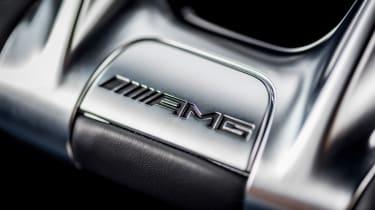 Mercedes S-class - AMG badge