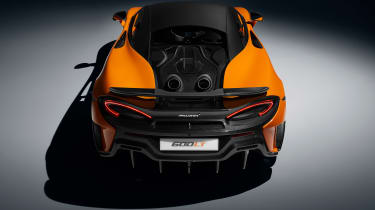 McLaren 600LT full specs - rear
