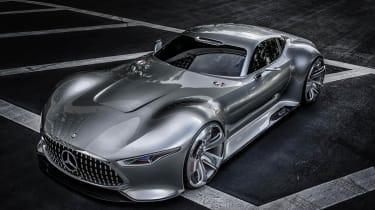 LA motor show 2013: Mercedes AMG Vision concept