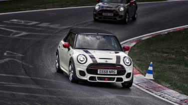 Mini John Cooper Works convertible 2019 facelift