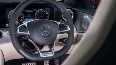 Mercedes-AMG E63 S – steering wheel