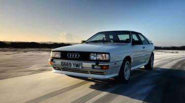 Audi Quattro - front