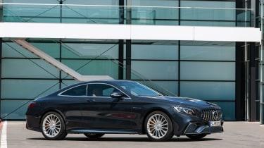 Mercedes S 65 Coupe - front quarter