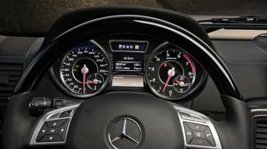 Mercedes-Benz G63 AMG dials