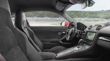 718 Boxster and Cayman GTS - interior