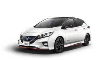 Nissan Leaf Nismo front three quarters