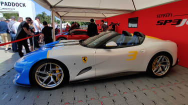 Ferrari SP3JC Goodwood 2019