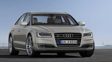 Audi A8 2014 facelift revealed
