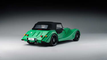 Morgan Plus Six MY22 –rear quarter roof up