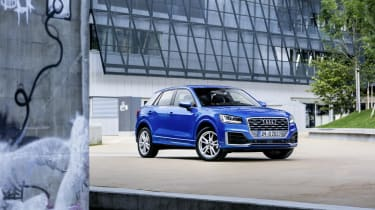Audi Q2 TFSI front three quarters